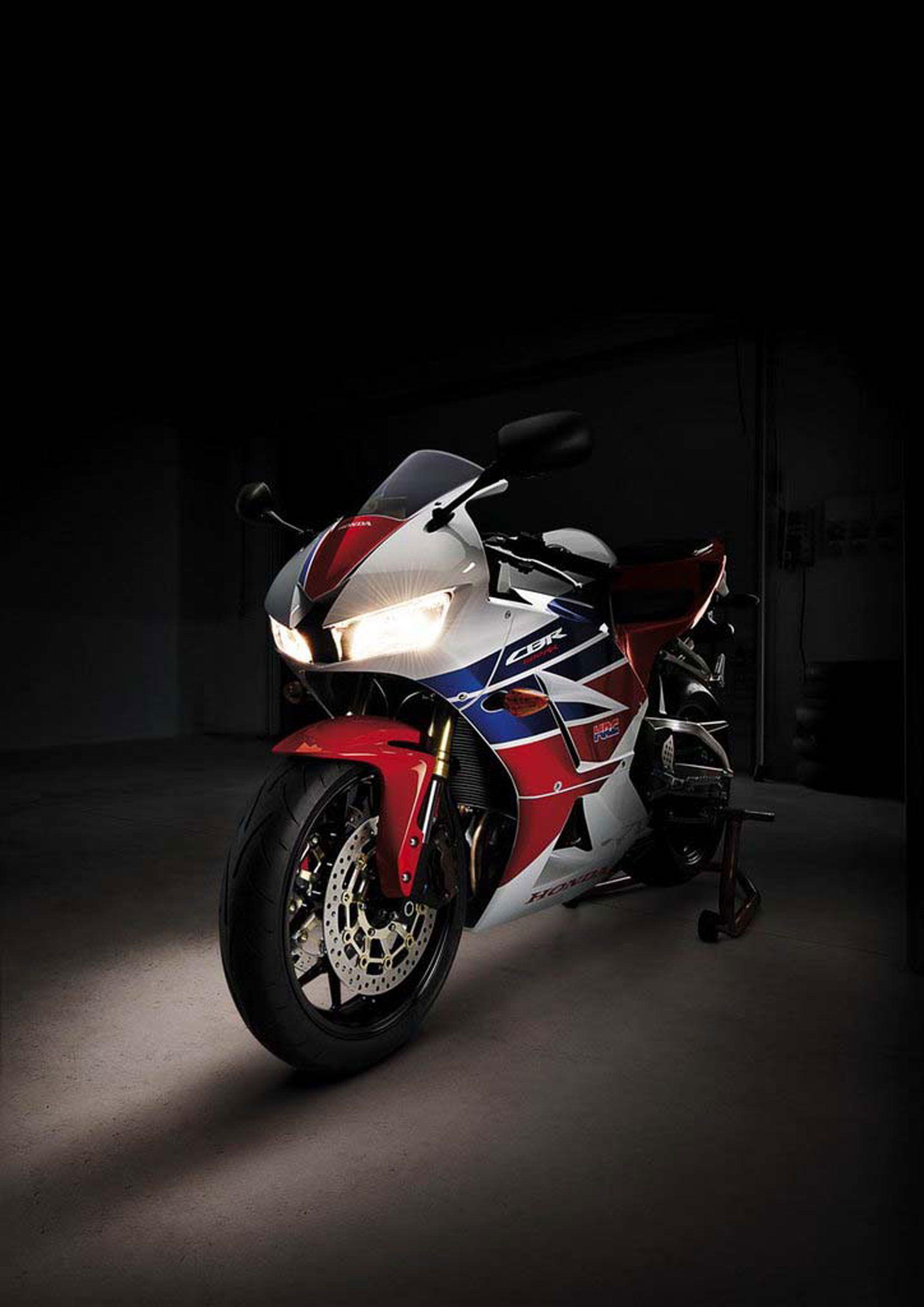 Wallpaper Honda Cbrrr Motorcycle Speed Race X
