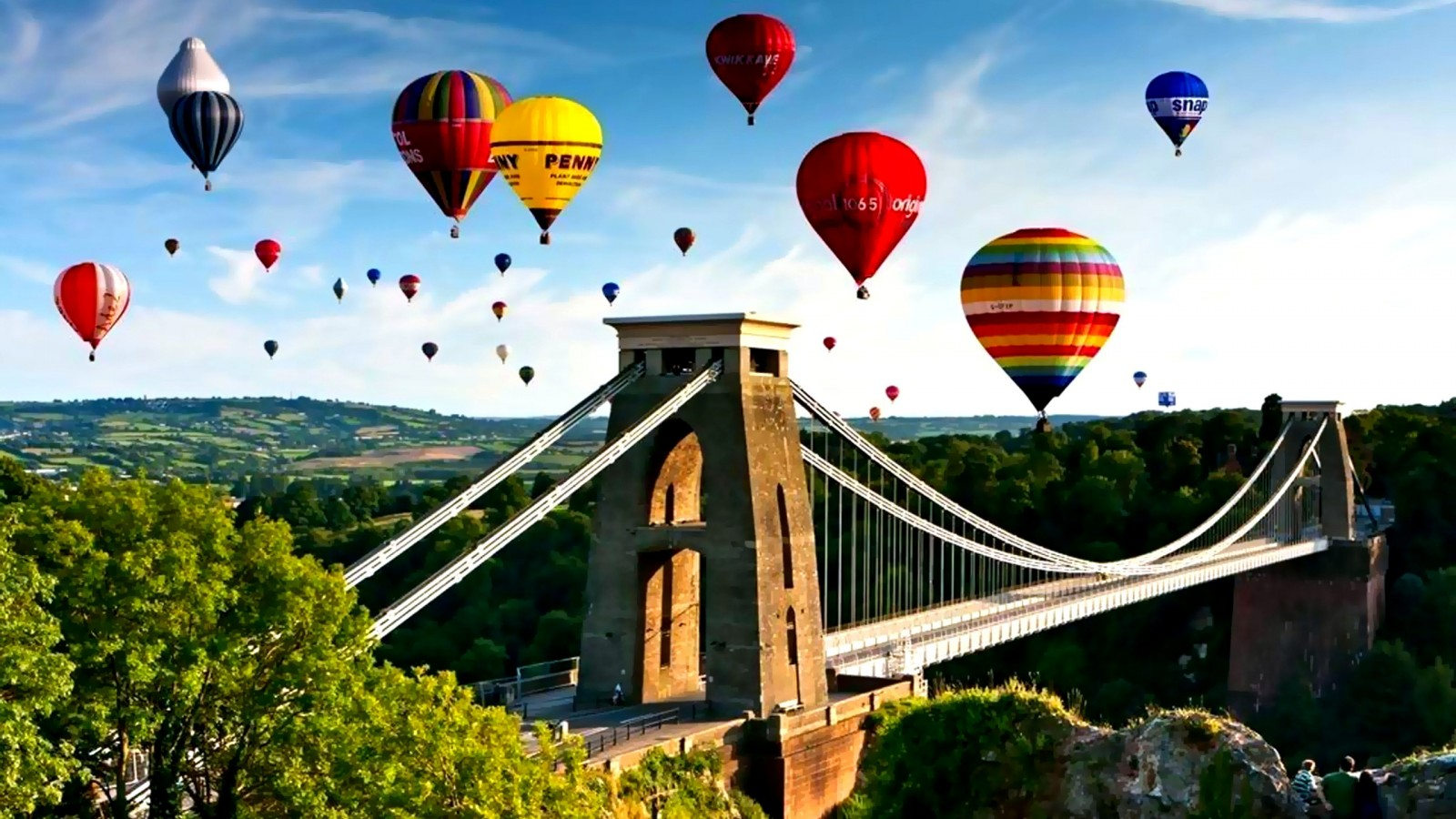 YouWall  Hot Air Balloons Wallpaper  wallpaper,wallpapers,free 1600x900