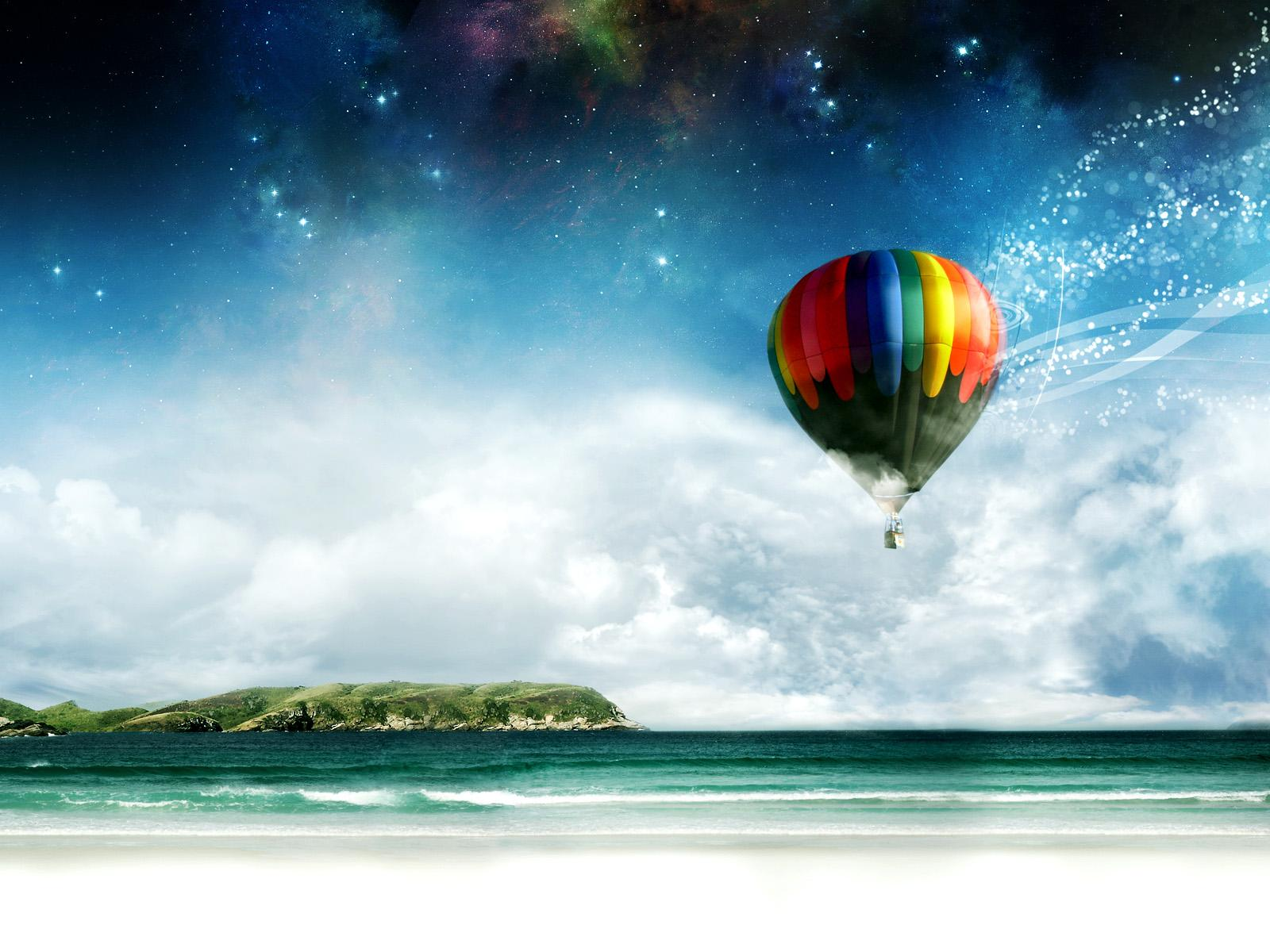 Hot Air Balloon wallpaper  wallpaper free download 1600x1200