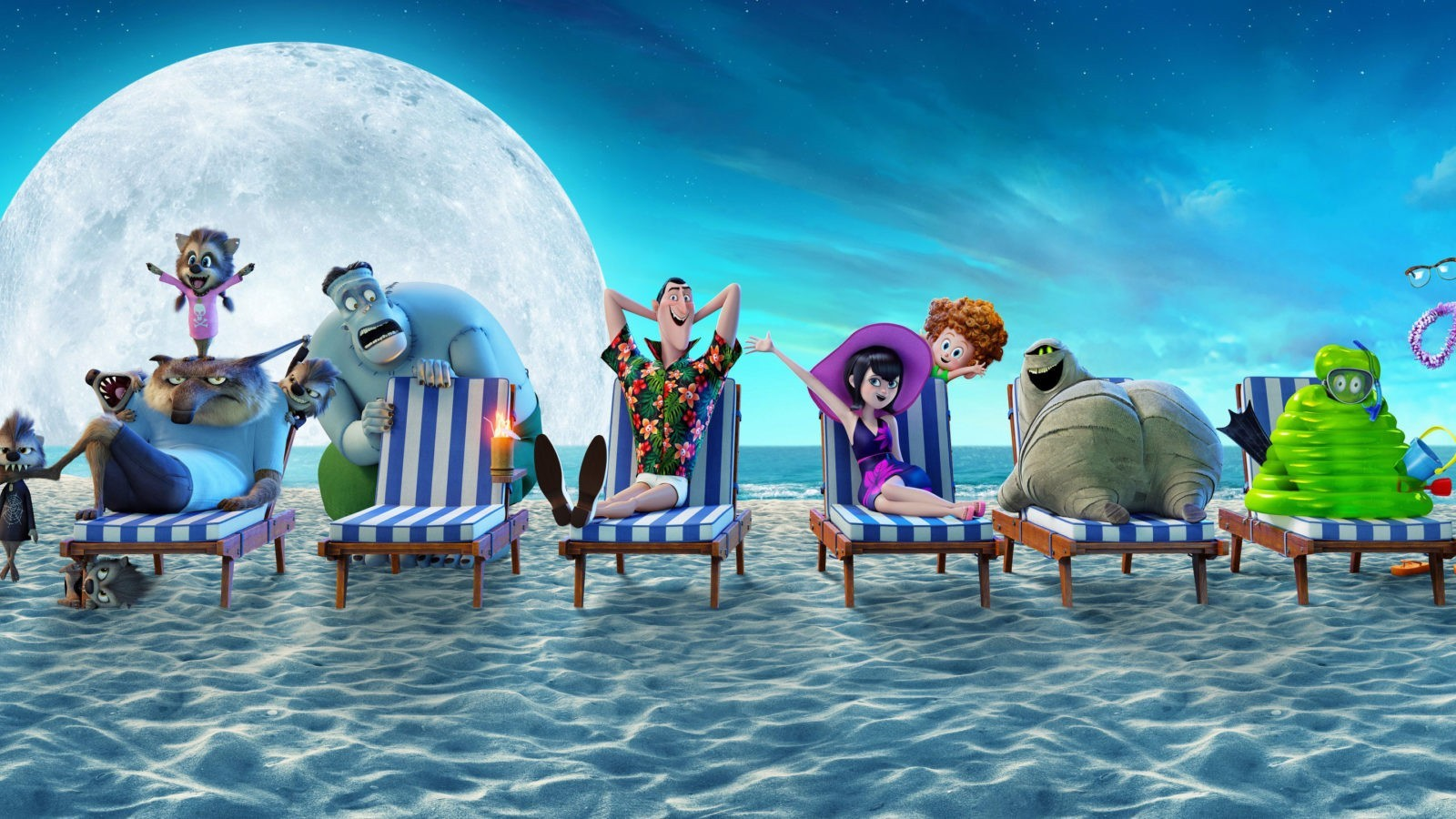 Hotel Transylvania 3 Summer Vacation hd wallpaper