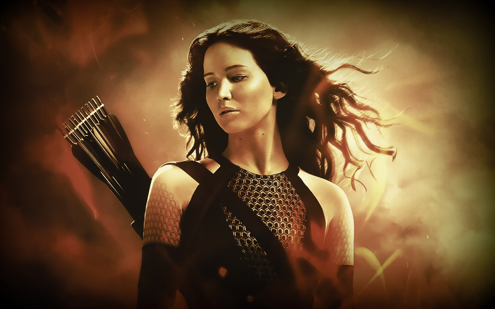 Jennifer Lawrence In Hunger Games Wallpaper  Movies HD Wallpapers 1600x1000