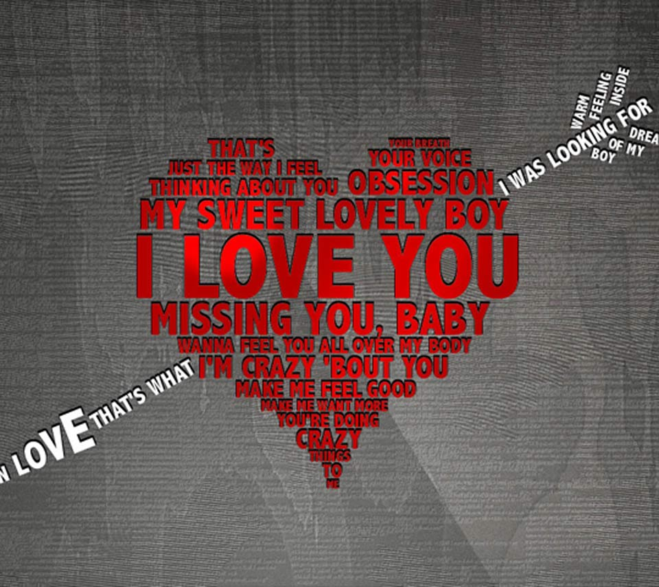 I Love You Written On Paper HD Desktop Wallpaper Widescreen 960x854