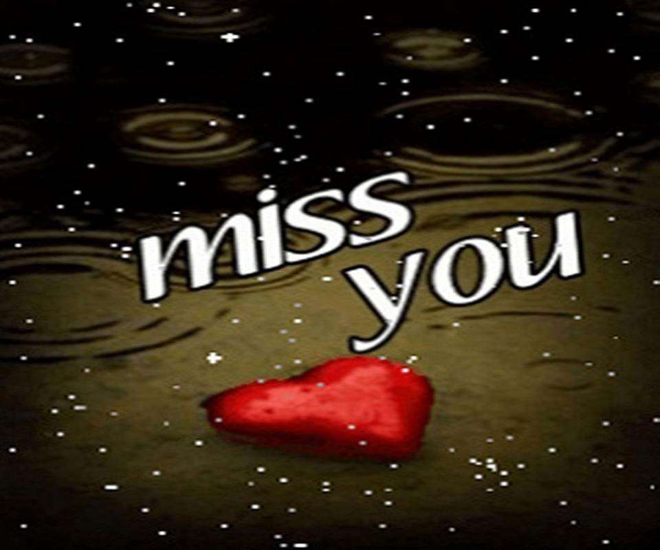 Miss You Sad Wallpaper with quotes sayings  I Miss You 960x800