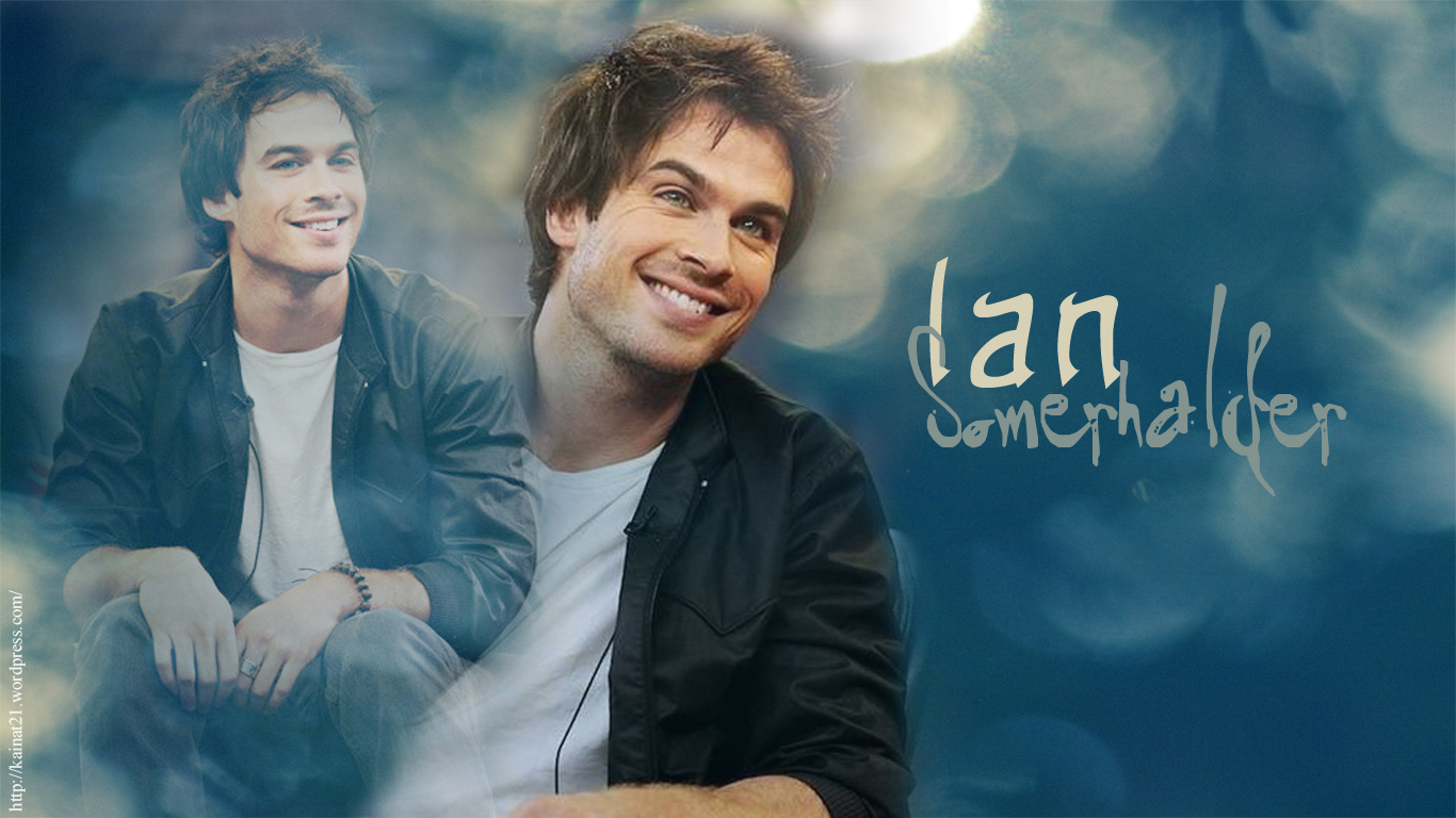 Black and white k ian somerhalder wallpapers free k wallpaper 1366x768 voltagebd Image collections
