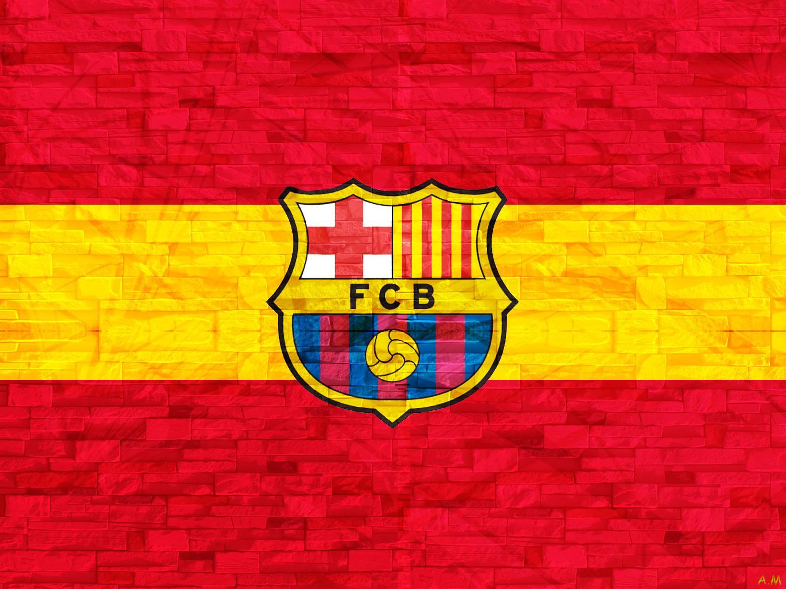Barcelona Logo Wallpaper Hd 1600x1000