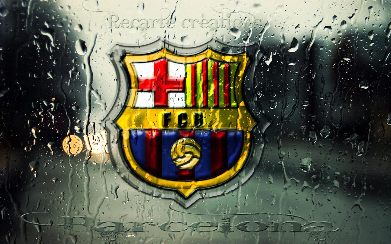Fc Barcelona Logo Wallpaper Background Neymar Soccer Other 1440x900