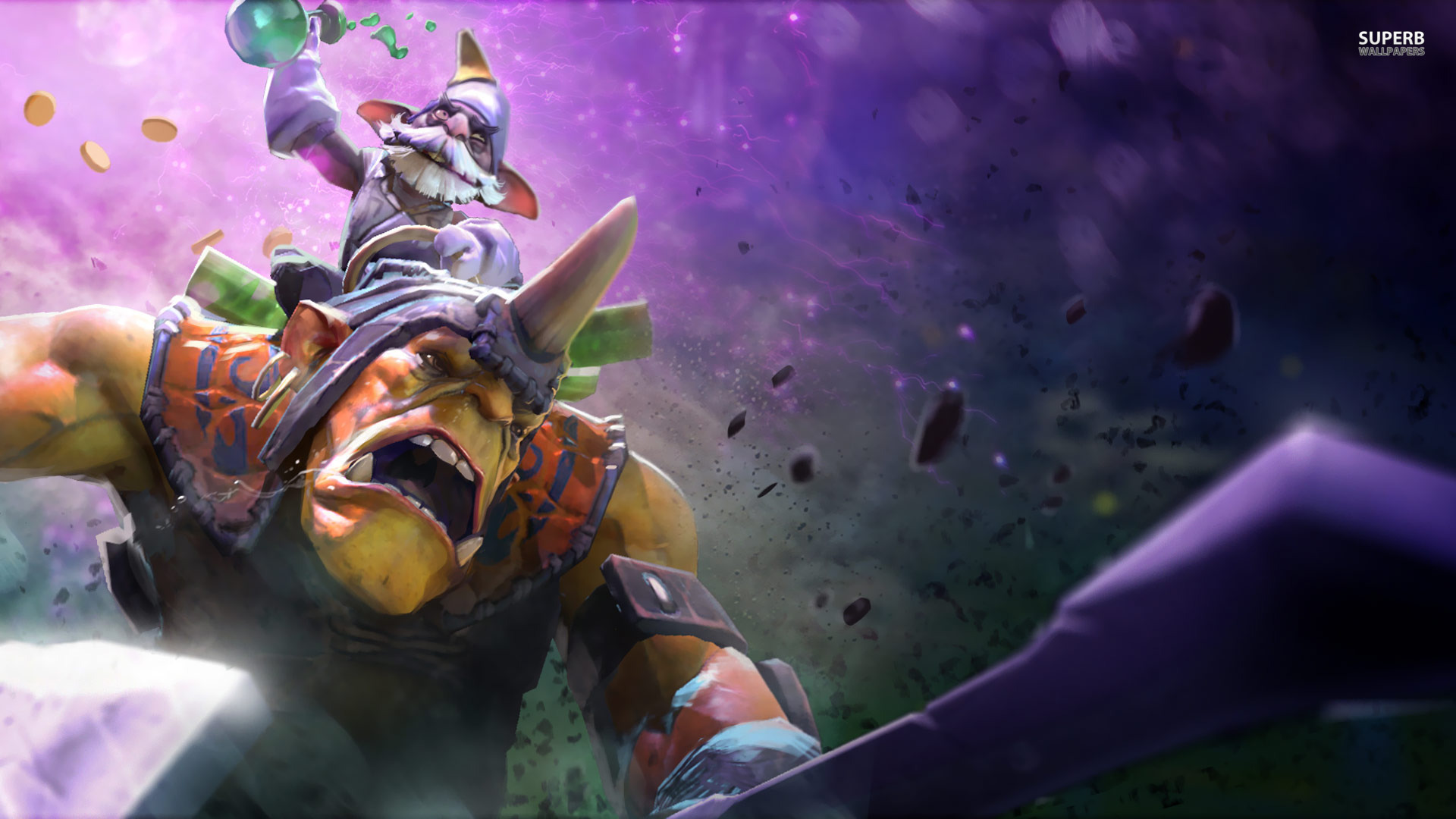 Dota : Techies HD Desktop Wallpapers  wallpapers  images about DotA  Wallpapers on Pinterest  Strength, Ymir 1920x1080