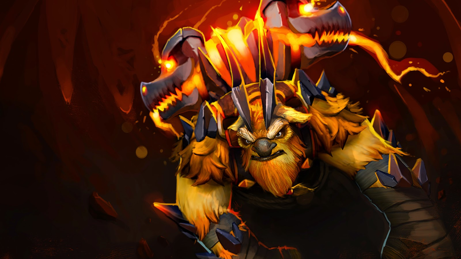 DotA  Chibi Wallpaper full HD for Desktop 1600x900