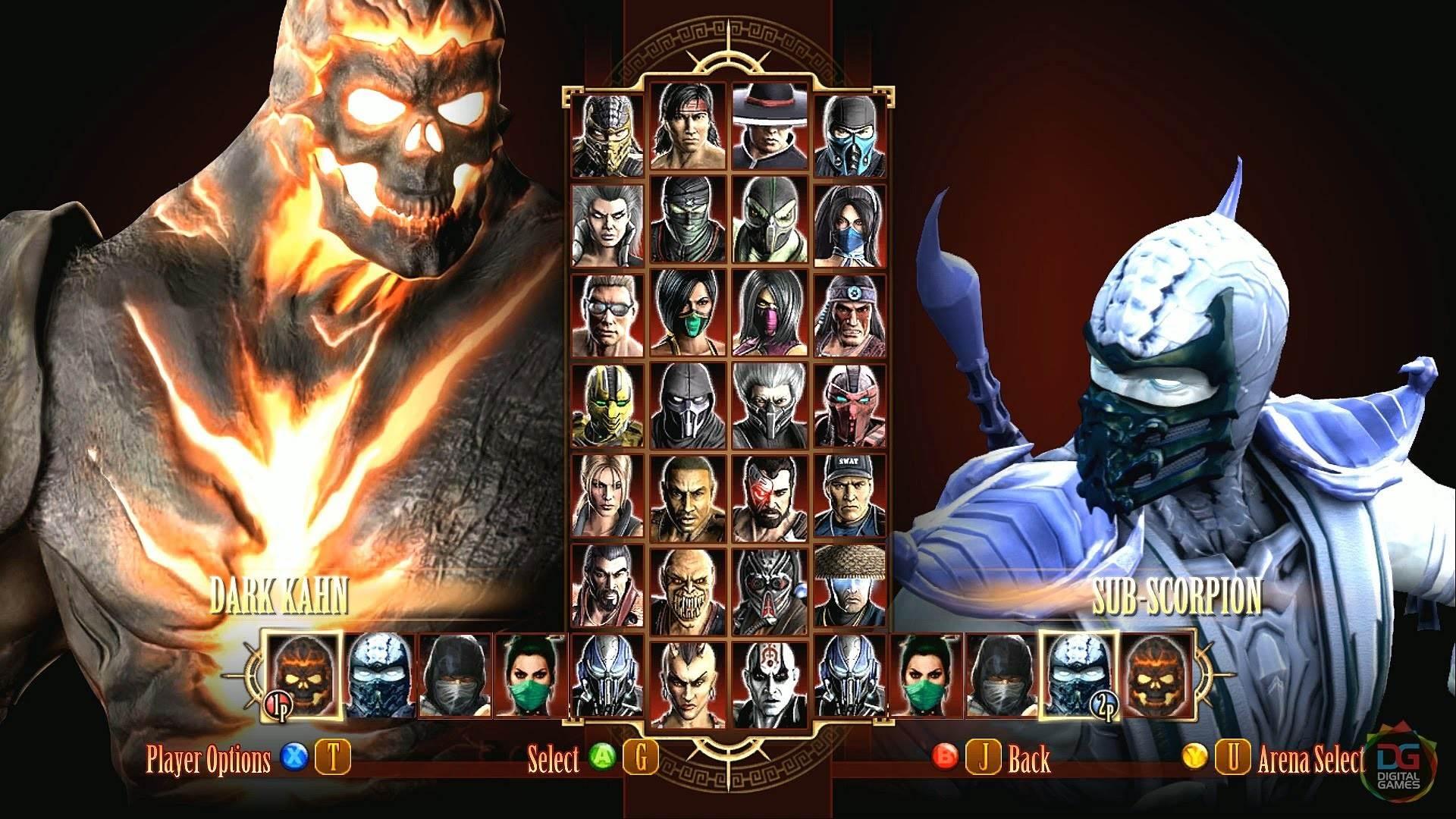 Mortal Kombat Sub Zero And Kitana Wallpaper 1920x1080