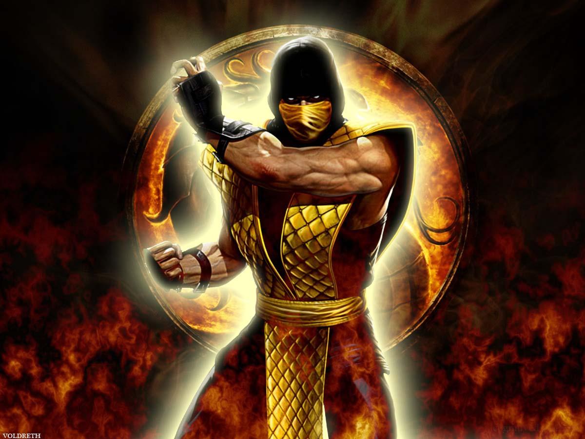 Mortal Kombat Logo Hd Desktop Wallpaper Fullscreen Mobile 1200x900
