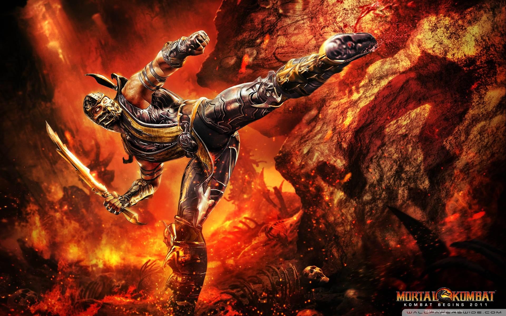 Mortal Kombat Logo Wallpapers Hd Wallpapers 1920x1200