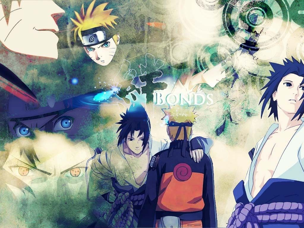 Naruto And Sasuke Wallpapers  Wallpaper  1024x768