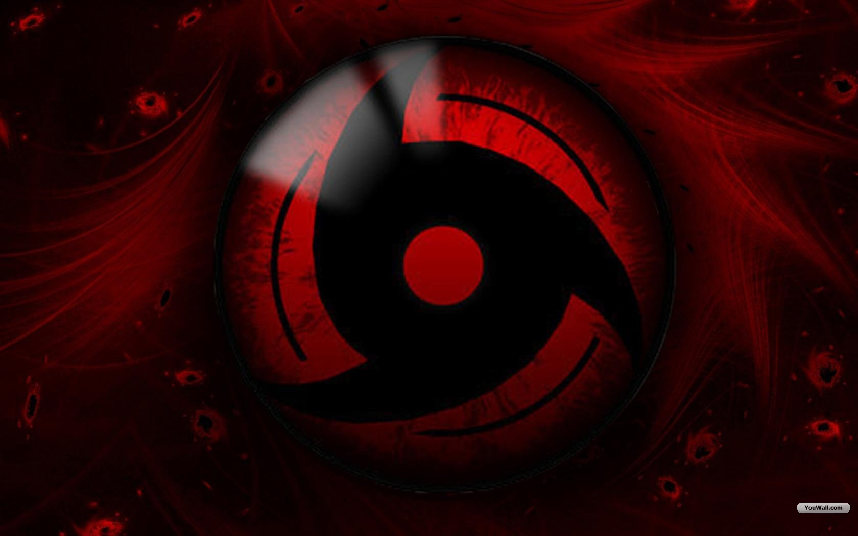 Live Sharingan Wallpaper for PC   1680x1050