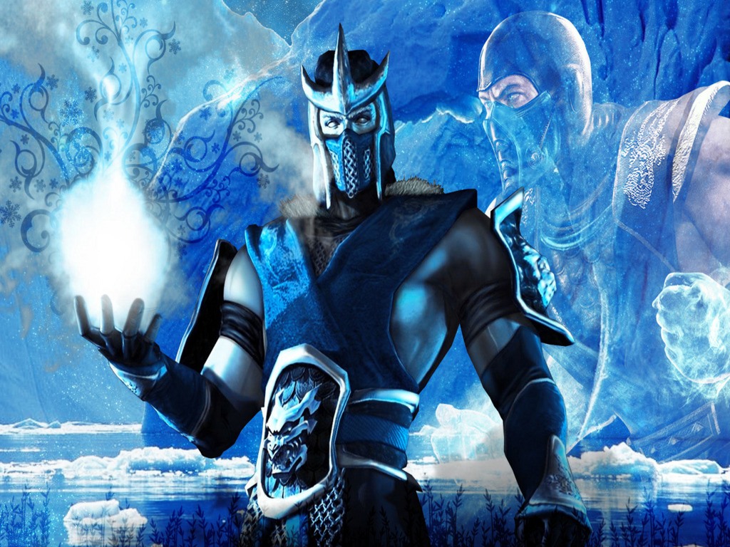 Mortal kombat wallpaper cyber sub zero