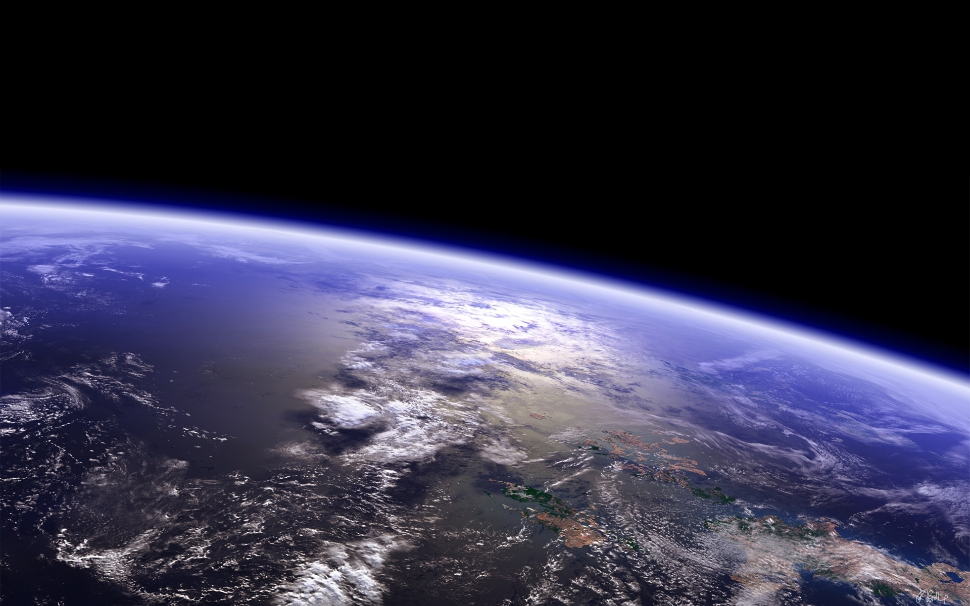 Earth From Space Wallpaper Marvelous Planet And Wallpapers Hongkiat 1920x1200