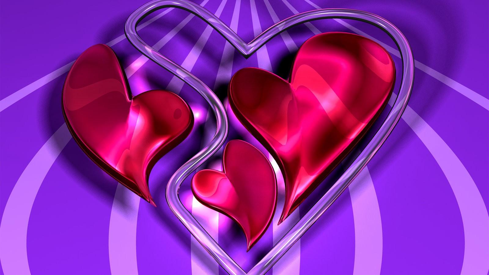 обои для рабочего стола любовь 3д № 446702 бесплатно