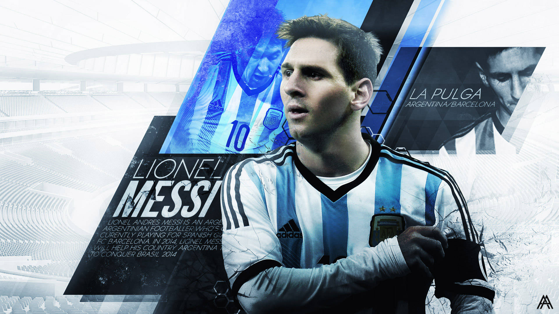 Messi Wallpapers HD  Wallpaper  1920x1080