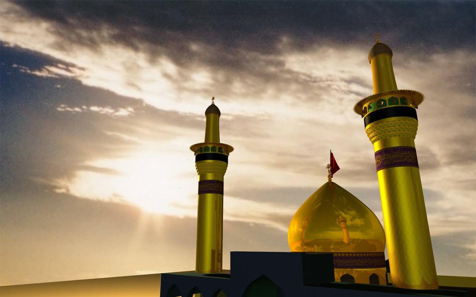 Imam hussain roza wallpapers 40 wallpapers adorable - Imam wallpaper ...