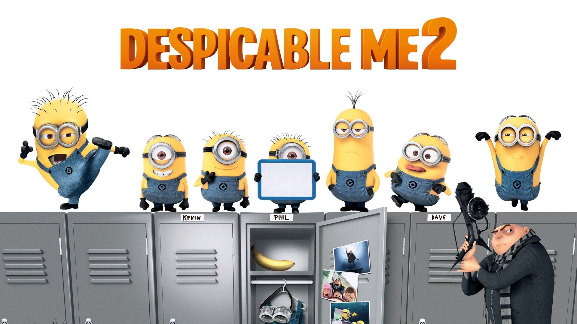 New Collection of Despicable Me  Minions  Crazy Minion Images 1920x1080