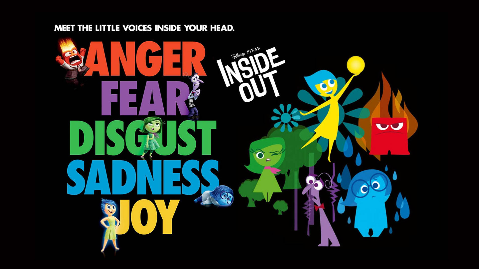 Disney Inside Out Wallpaper   1920x1080