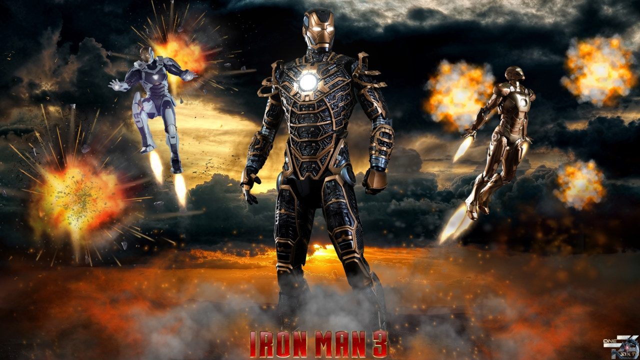 iron man wallpapers high resolution : movies wallpaper 1280x720