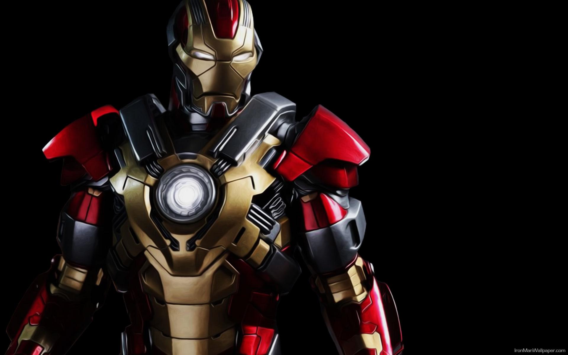 Iron Man Hd Desktop Wallpaper Widescreen High Definition 1920x1200