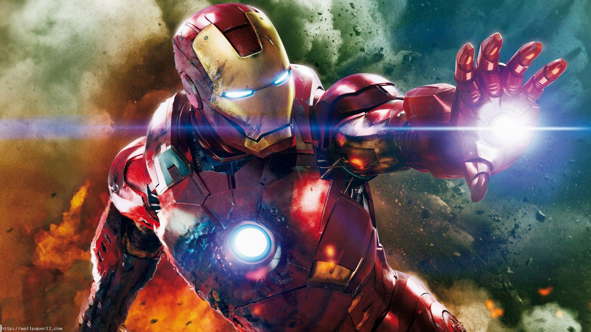 Iron Man Hd Desktop Wallpaper Widescreen High Definition 1920x1080