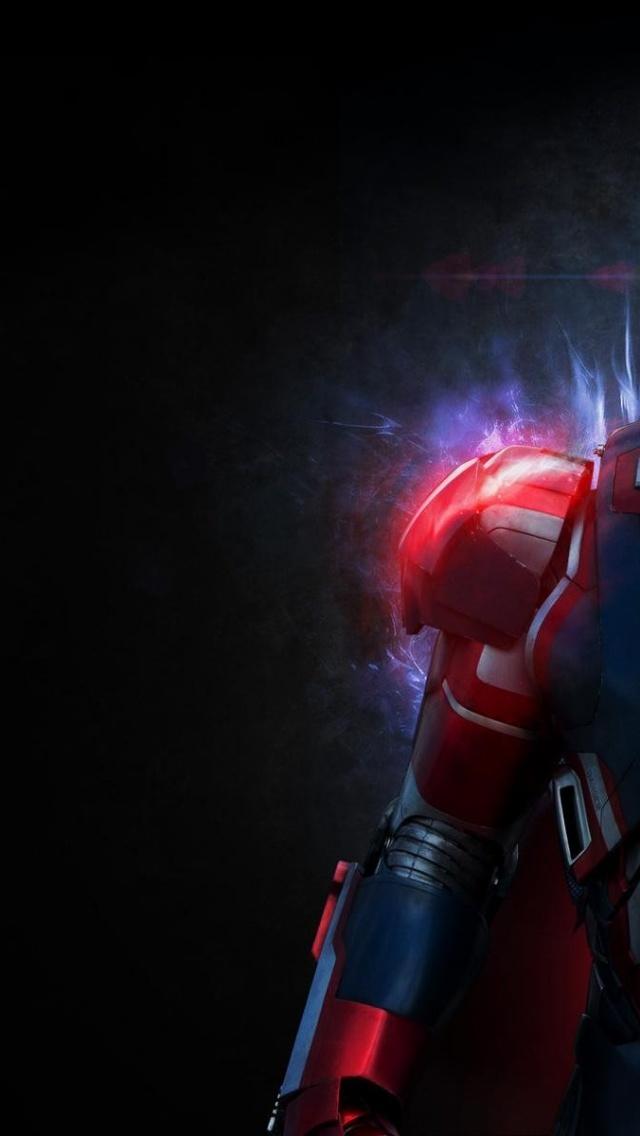 Iron Man Abstract Interface Design Macro Wallpaper