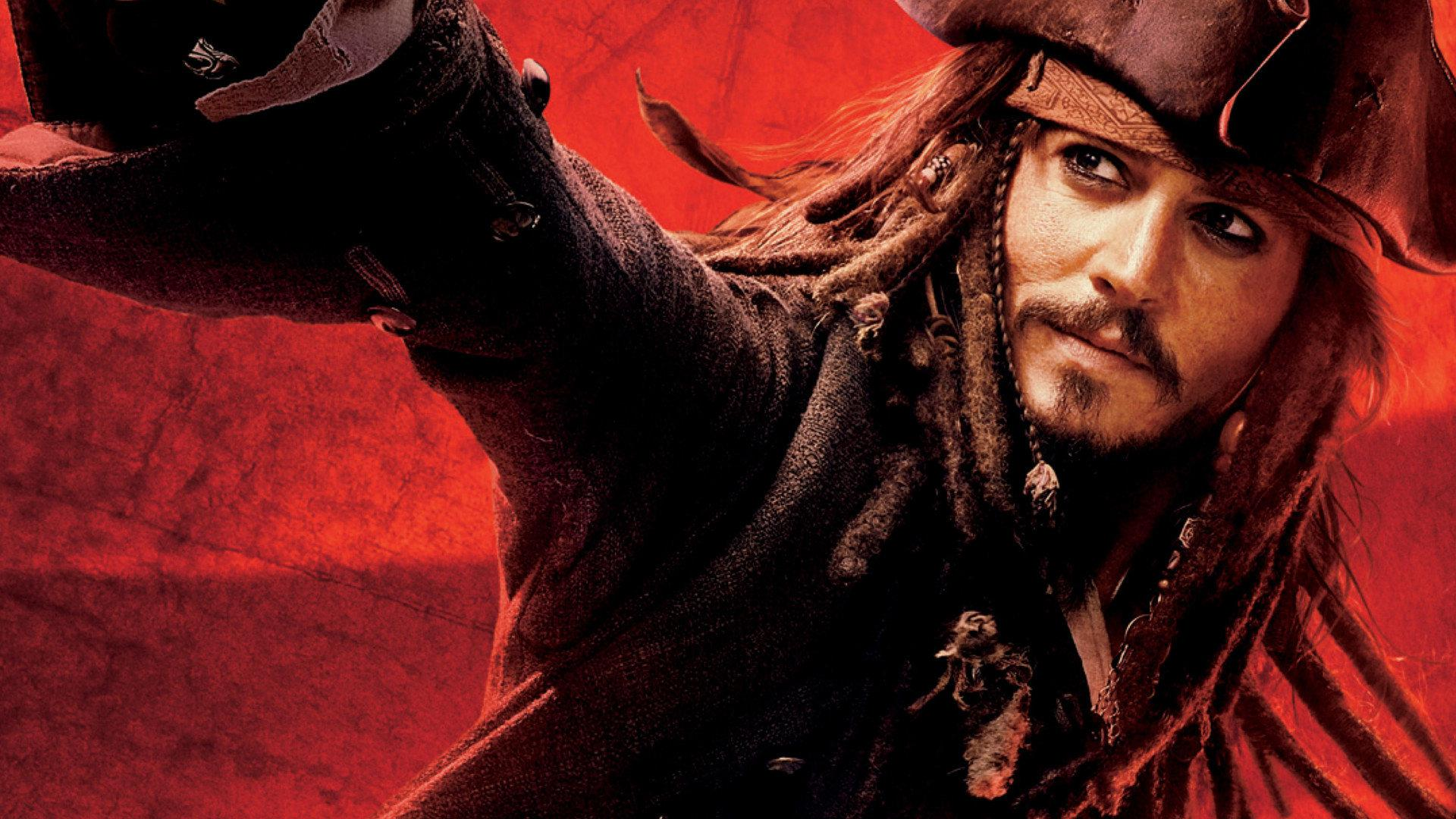 Wallpaper Pirates of the Caribbean Jack Sparrow pirates
