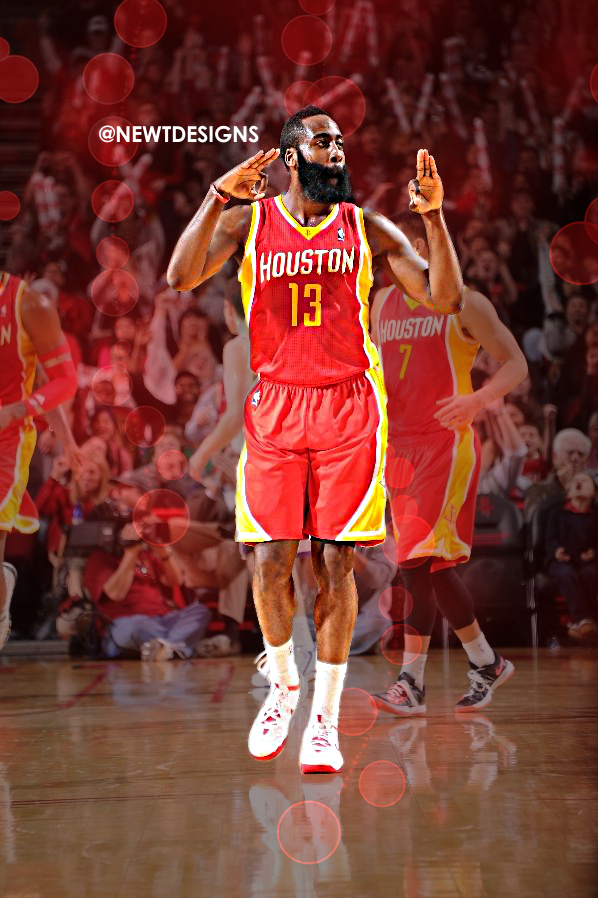 James Harden Iphone Wallpaper Rockets 598x898