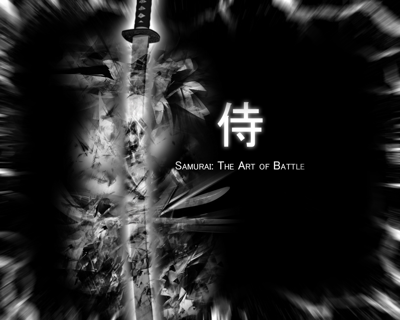 Japanese Samurai Art Hd Desktop Wallpaper For Tablet