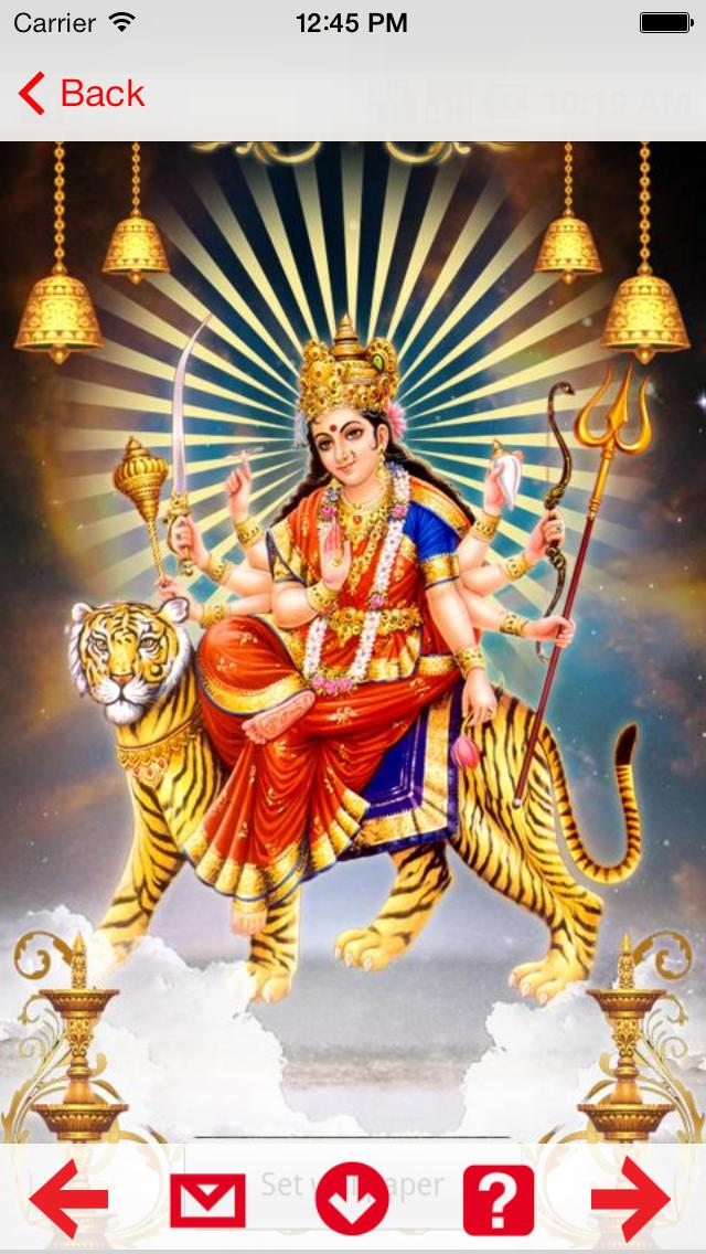 Jai Maa Durga Wallpapers app for ios Review Download .IPA