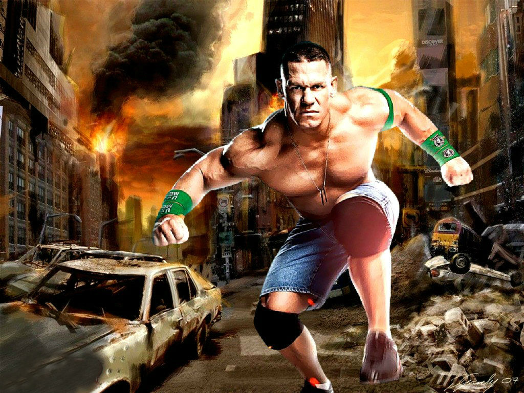 WWE Superstar John Cena Wallpaper HD Pictures  One HD Wallpaper 1024x768