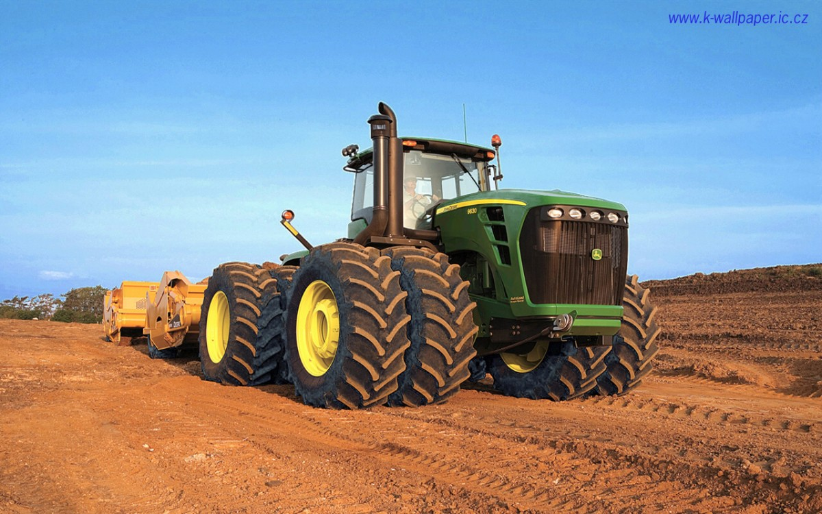 John Deere Tractors Wallpapers (34 Wallpapers) – Adorable ...