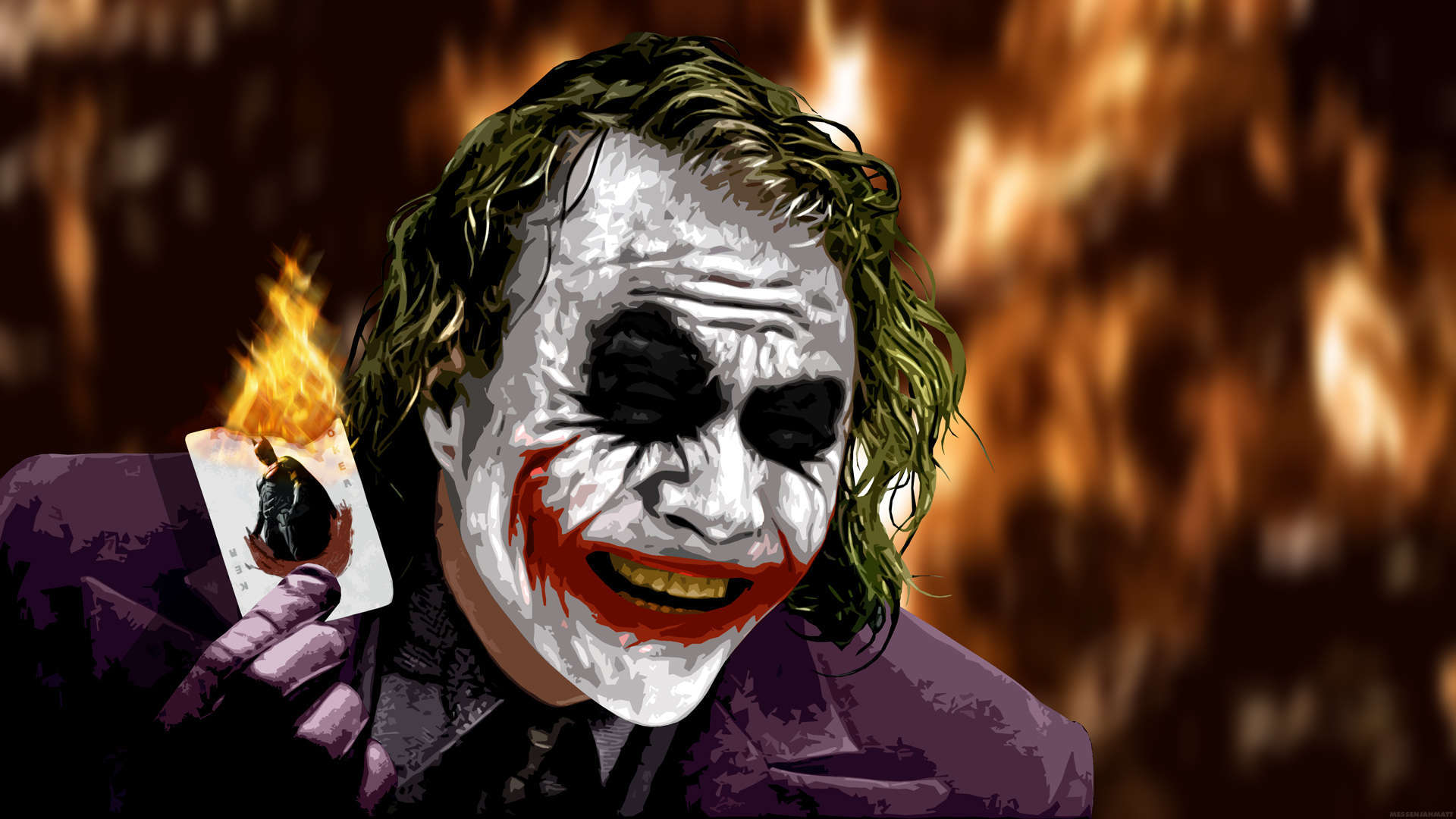 entries in The Joker Heath Ledger Wallpapers