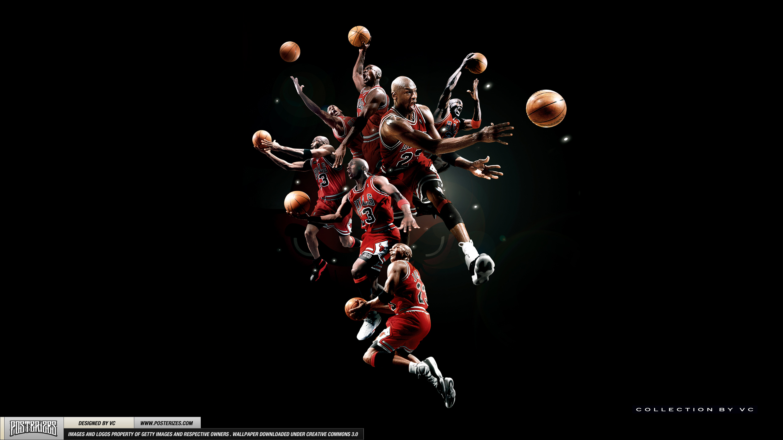 THE SQUAD; MJ and the Team Jordan Brand Players  Basketball 2560x1440