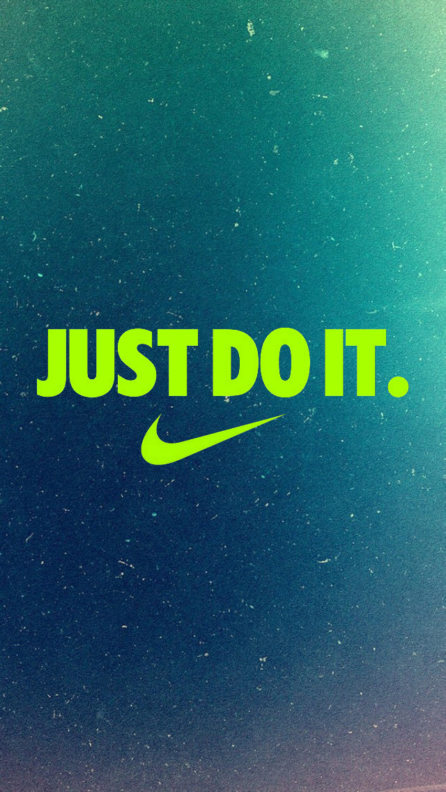 Nike Just Do It Black  iPhone  Wallpaper  Pocket Walls :: HD 640x1136