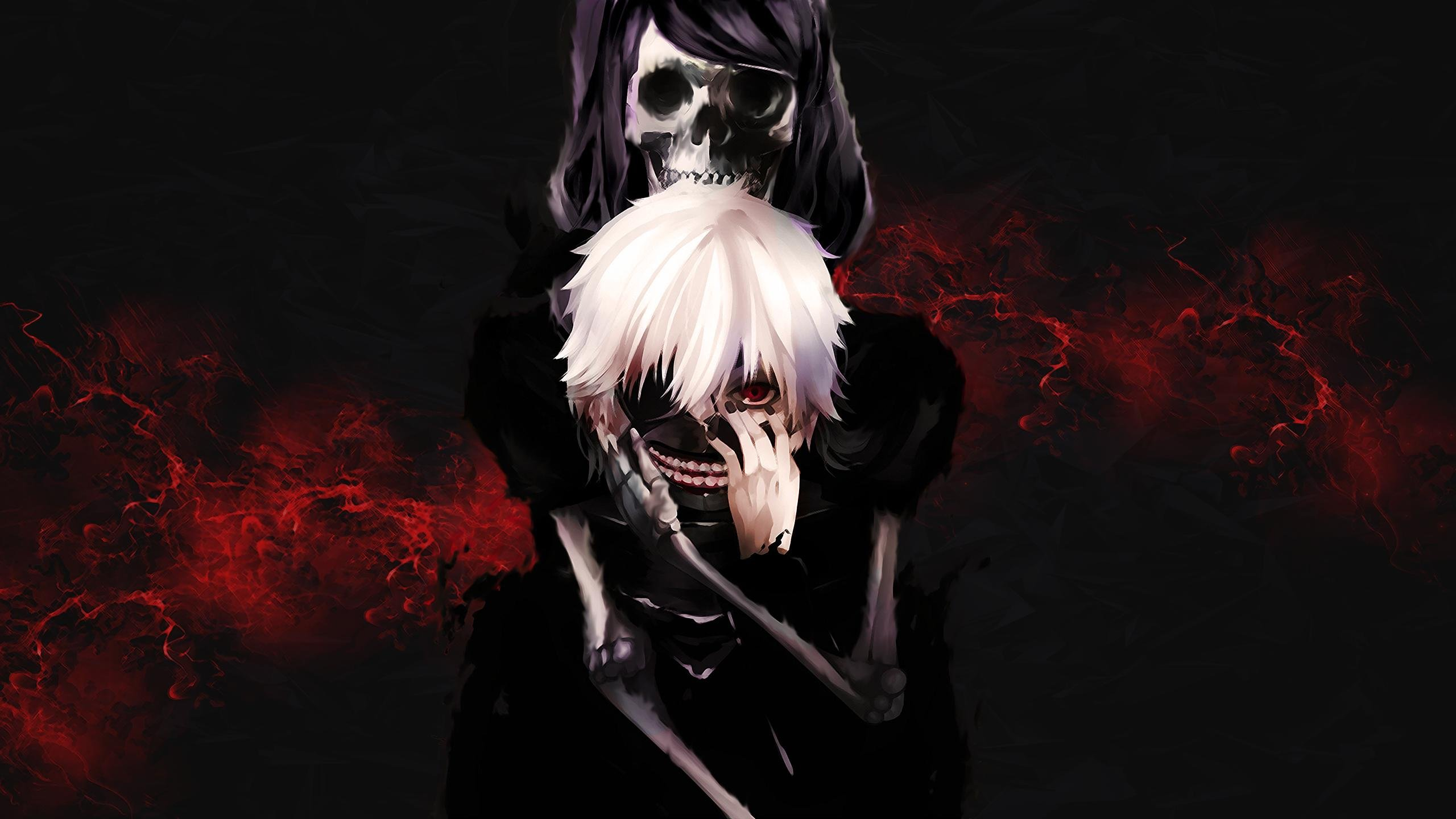 anime tokyo ghoul anime boys kaneki ken hd wallpapers desktop 2560x1440