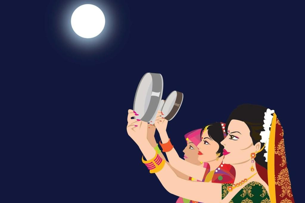 Happy Karwa Karva Chauth Wishes SMS HD Wallpapers