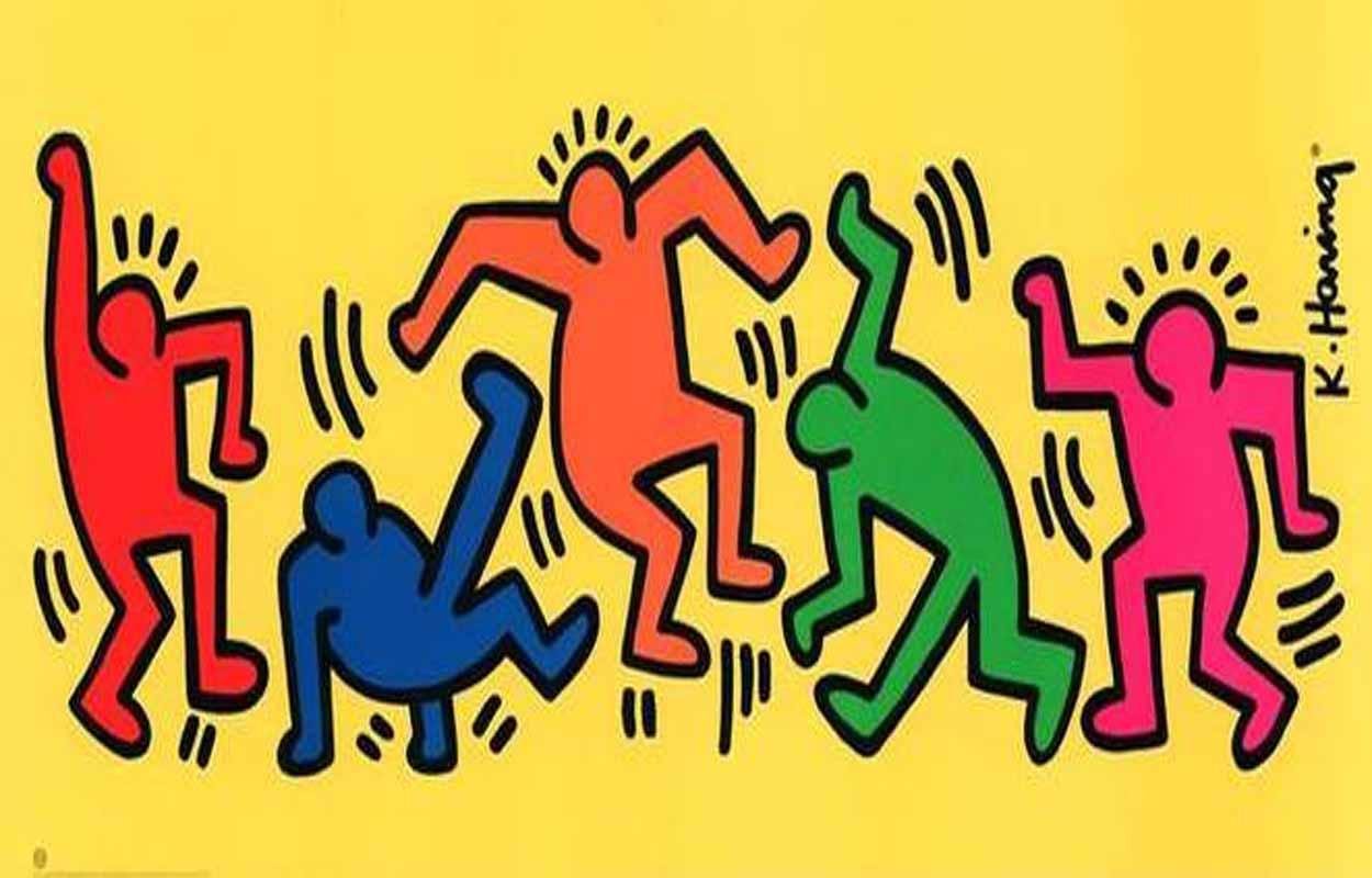 Keith Haring Coloring Pages × High Definition Wallpapers