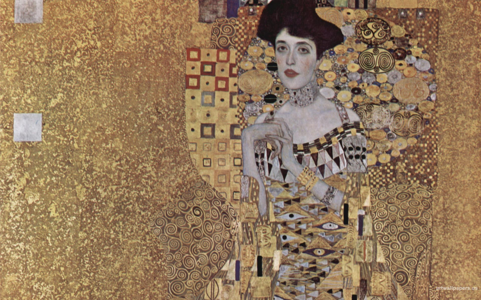 Wallpaper Gustav Klimt The Kiss  starfruit flavor tasters 1920x1200
