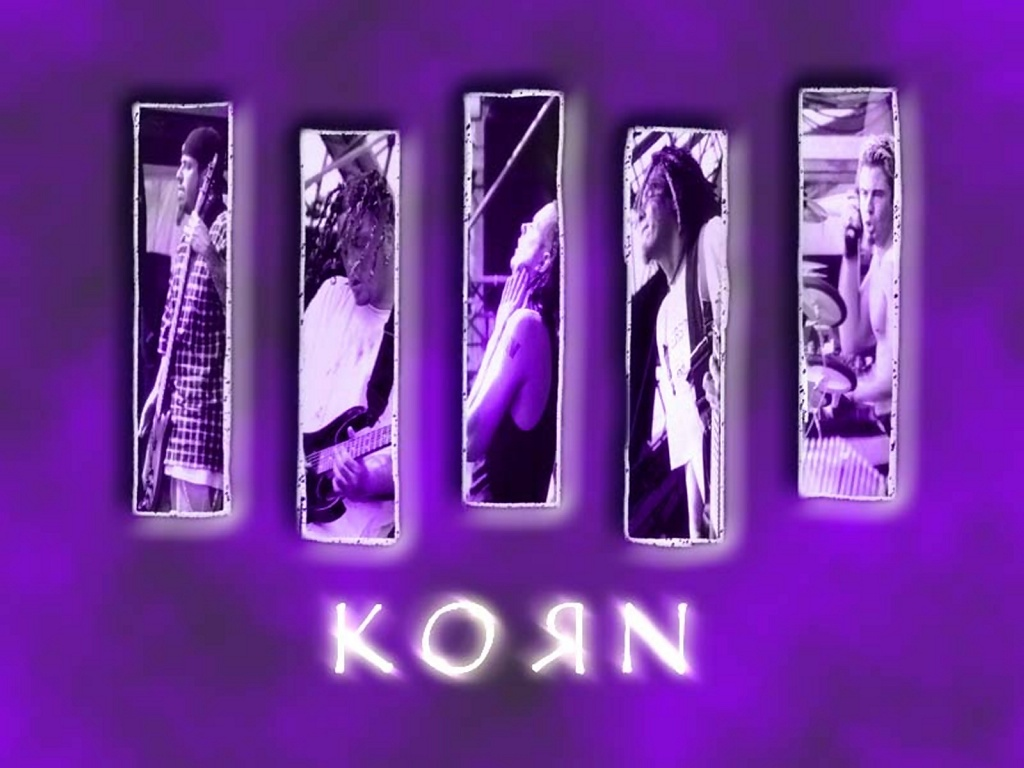 Korn Logo Wallpaper   1024x768