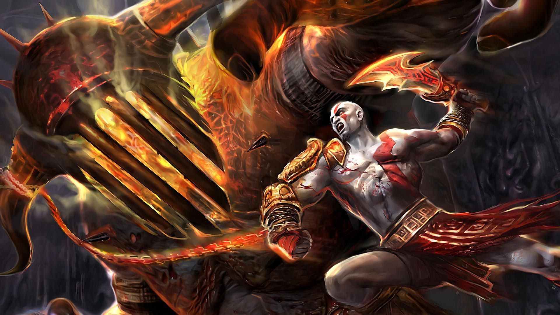 Kratos God Of War Wallpapers 36 Wallpapers Adorable