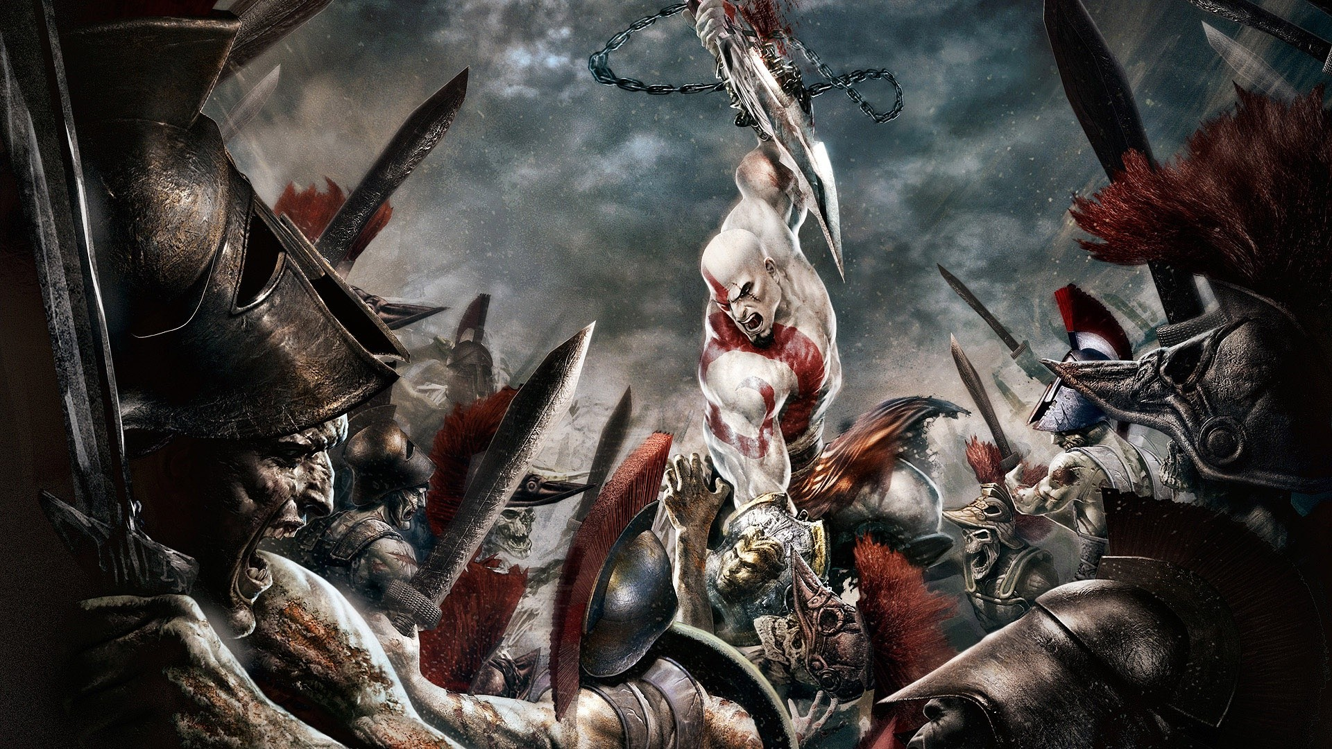 Kratos God Of War Wallpapers 36 Wallpapers Adorable