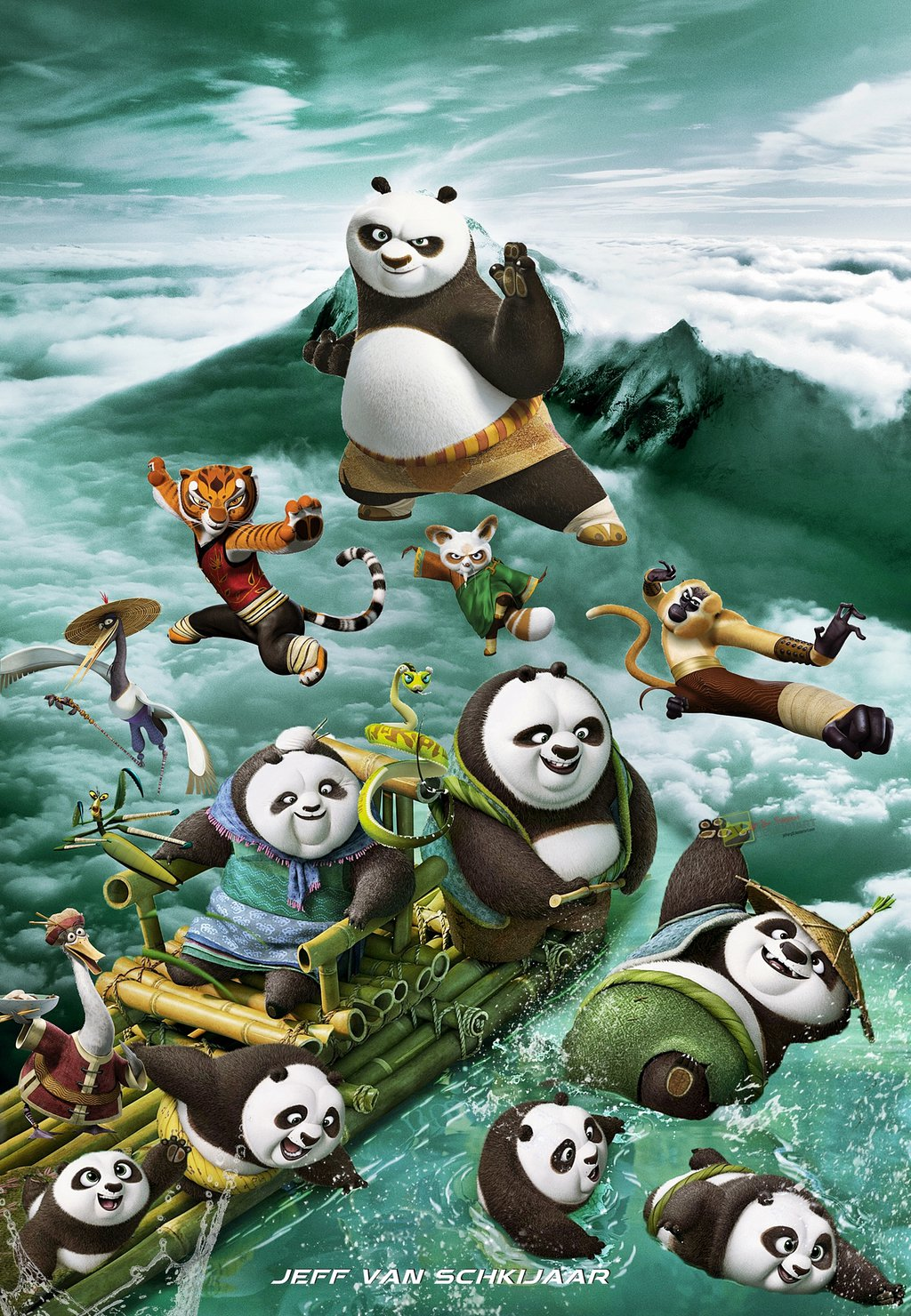 kung fu panda series hd wallpapers, reviews and news: kung fu 1024x1480