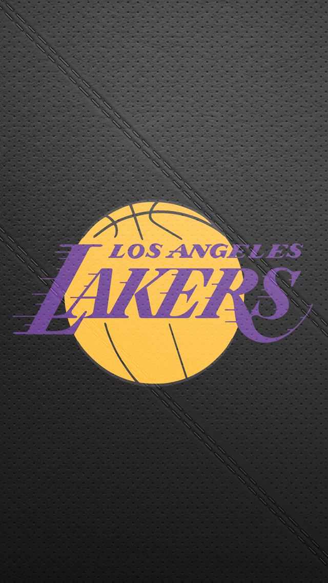 Los Angeles Lakers Wallpaper   640x1136