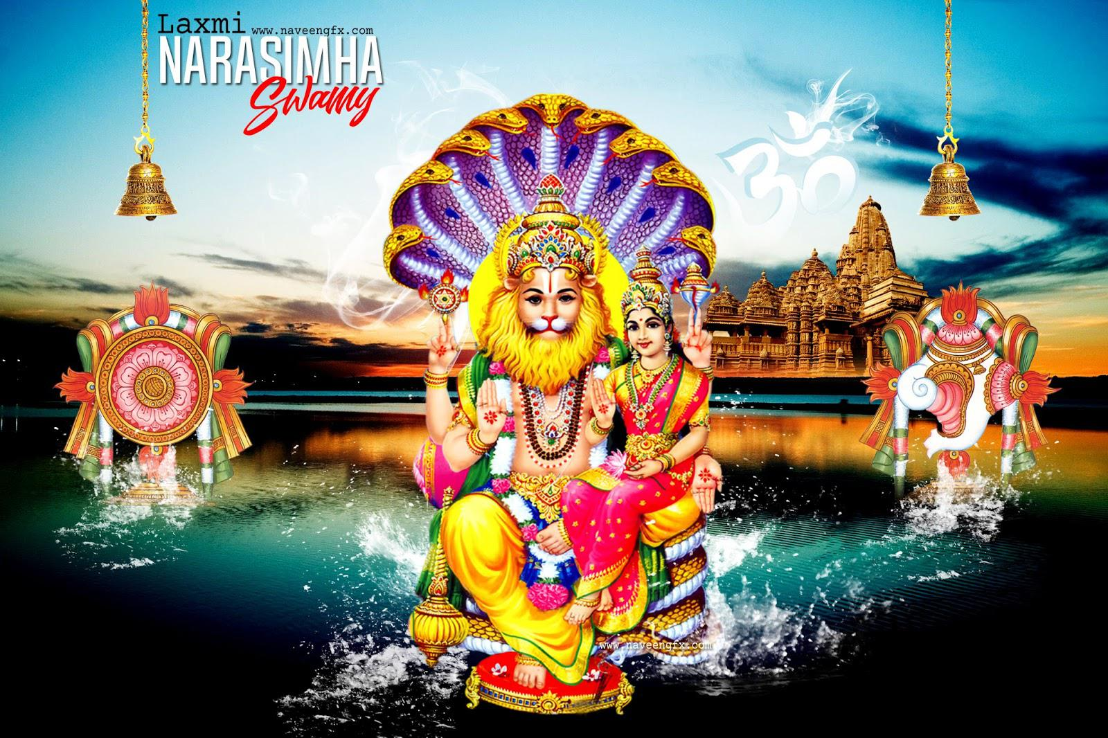 Lakshmi Narasimha Swamy Hd Wallpapers  image collections of