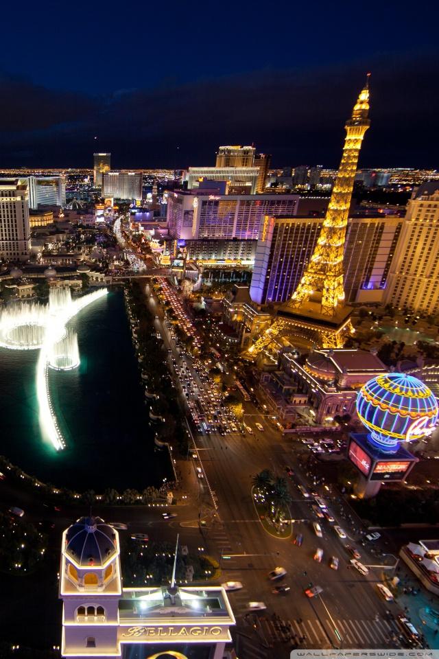 Beautiful Las Vegas Hd Wallpaper 640x960