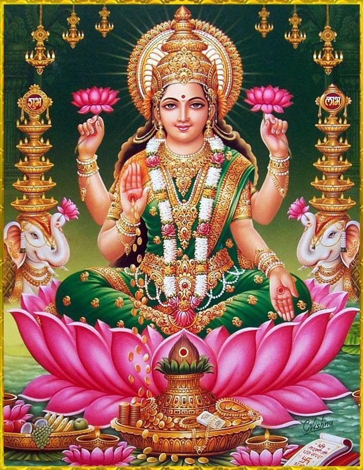Laxmi Devi Hd Wallpaper