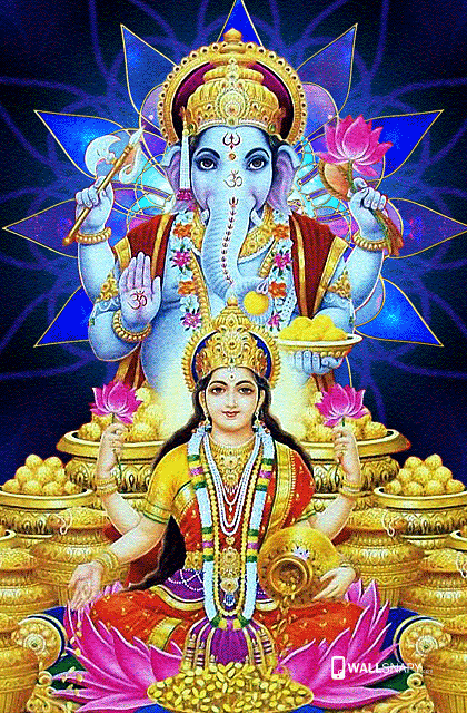 Maha Vinayagar Lakshmi Wallpaper Gods Picturesque